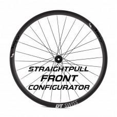 Custom Handbuilt Straightpull FRONT Wheel Configurator
