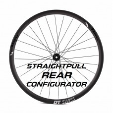 Custom Handbuilt Straightpull REAR Wheel Configurator