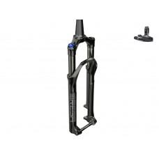 """ROCKSHOX suspension fork 29 """"REBA RL SA 100 mm BOOST 51 mm offset OneLoc tapered black   2021"""