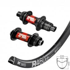 DT Swiss R460 Disc / DT Swiss 240s Centerlock wheelset approx. 1540g on the lightest spokes