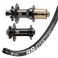 DT Swiss RR411 Asymmetric Disc / Novatec 791/792 wheelset 1565g